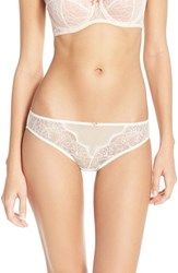 Women's B.Tempt'd By Wacoal 'B Sultry' Bikini Vanilla Ice Peach Beige