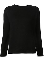 321 Crew Neck Sweater Black