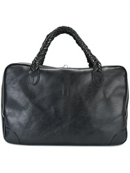 Golden Goose Deluxe Brand 'Equipage M M' Small Holdall Black