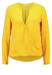 Kiomi Blouse Golden Glow Dark Yellow