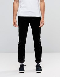 Edwin 55 Chino In Black Corduroy Black