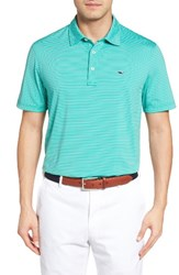 Vineyard Vines Men's 'Wilson' Stripe Jersey Polo
