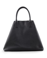 Akris Ai Cervo Medium Shopper Tote Bag Black