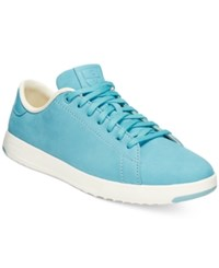 Cole Haan Grand Pro Tennis Lace Up Sneakers Women's Shoes Dusk Blue