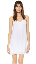 Lanston Woven Cami Dress White