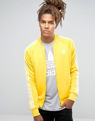 Adidas Originals Trefoil Superstar Track Jacket Ay7060 Yellow