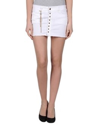Jfour Mini Skirts White