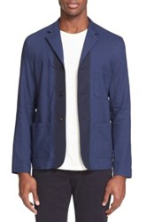 Umit Benan Workwear Jacket Blue