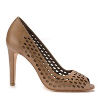Ash Angie Heels Taupe
