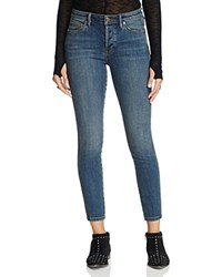 Free People Peyton High Rise Skinny Jeans In Vintage Vintage Denim