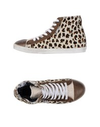 Le Crown Footwear High Tops And Trainers Women Ivory