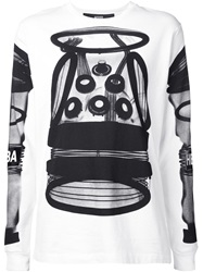Hood By Air Photographic Print T Shirt White