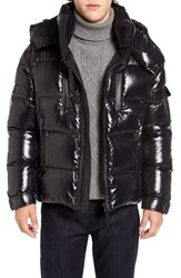 Sam. Men's Eclipse Hooded Goose Down Puffer Jacket