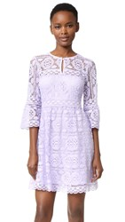 Nanette Lepore Garden Party Dress Lavender