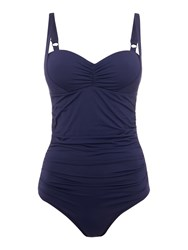 Dickins And Jones Marilyn Tummy Control Swimsuit Navy