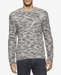 Calvin Klein Jeans Men's Basket Rope Sweater Black
