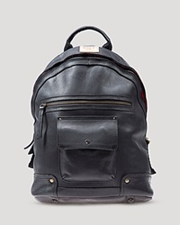 Will Leather Goods Silas Backpack Black