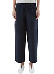 Marvielab High Waisted Straight Leg Pants Black
