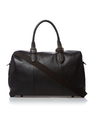 Howick Pebble Leather Holdall Black
