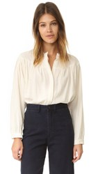 Steven Alan Lyrical Top Ivory