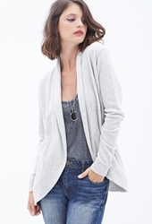 Forever 21 French Terry Open Cardigan