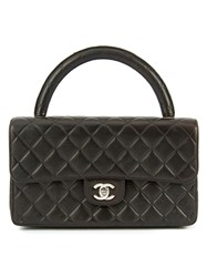 Chanel Vintage Small Quilted Handbag Black