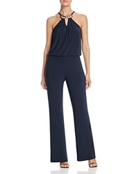 Laundry By Shelli Segal Hardware Detail Jumpsuit Navy