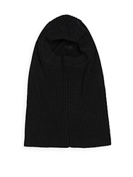 Rogue Rib Knit Snood Black