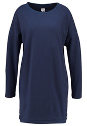 Bench Token Jersey Dress Dark Navy Blue Dark Blue