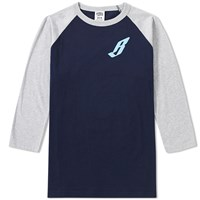 Billionaire Boys Club Flying B Raglan Tee Blue