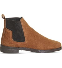 Office Jamie Suede Chelsea Boots Tan Suede