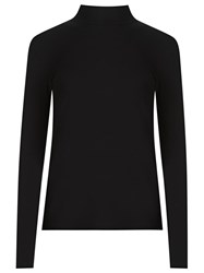 Gloria Coelho Turtle Neck Blouse Black
