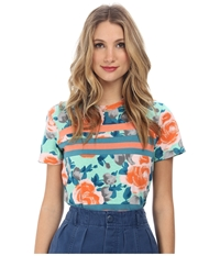 Marc By Marc Jacobs Jerrie Rose Patchwork Tee
