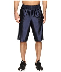 Adidas Basic Shorts 4 Collegiate Navy White Men's Shorts