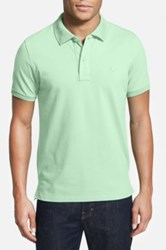 Tailorbyrd Stretch Pique Cotton Polo Big And Tall Green