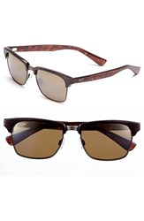 Men's Maui Jim 'Kawika Polarizedplus2' 54Mm Sunglasses Tortoise Gold
