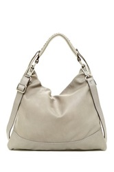 Abro Braveheart Leather Shoulder Bag Gray