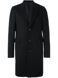 Paul Smith Peak Lapel Coat Black