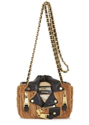 Moschino Brown Bear Shoulder Bag