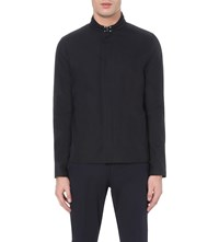 Reiss Finlay Twill Jacket Navy
