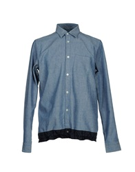 Department 5 Shirts Blue