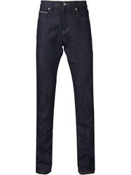 Naked And Famous Naked And Famous Slim Fit Jeans Blue
