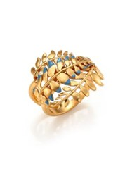 Tory Burch Fern Ring Goldtone