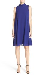 Women's Eliza J Chiffon Trapeze Dress Royal Blue