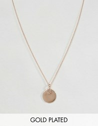 Pieces And Julie Sandlau Rose Gold Plated Jane Necklace Rose Gold