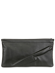 Vliegerandvandam Guardian Angel Embossed Leather Clutch Luisaviaroma Luxury Shopping Worldwide Shipping Florence