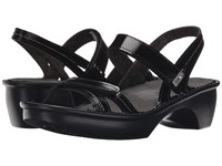 Naot Footwear Brussels Black Luster Leather Women's Sandals