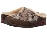 Acorn Sneaker Scuff Tribal Tan Women's Slippers