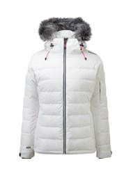 Tog 24 Sublime Womens Milatex Down Winter Jacket White