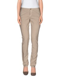 Maison Clochard Trousers Casual Trousers Women Beige